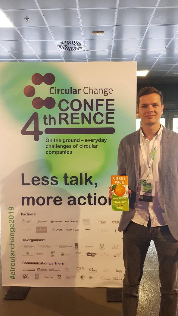 Life CITRUSPACK en la conferencia de cambio circular en Maribor