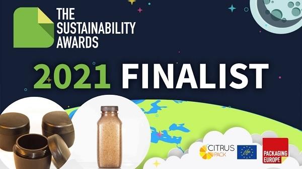 Los biotarros y biobotellas de CITRUSPACK, finalistas de los 2021 Sustainable Awards